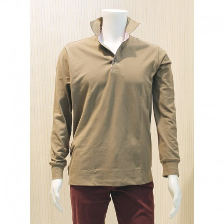 Polo manches longues - Homme