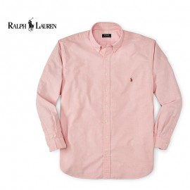 Chemise Ralph Lauren Rose - Regular - Coton Oxford