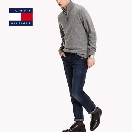 Pull Tommy Hilfiger, col cheminée