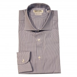 Chemise Officiel rayures fines