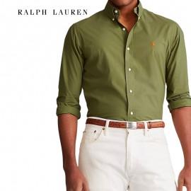 Chemise coton slim fit Ralph Lauren