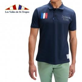 Polo imprimé Graphic Les Voiles de Saint-Tropez
