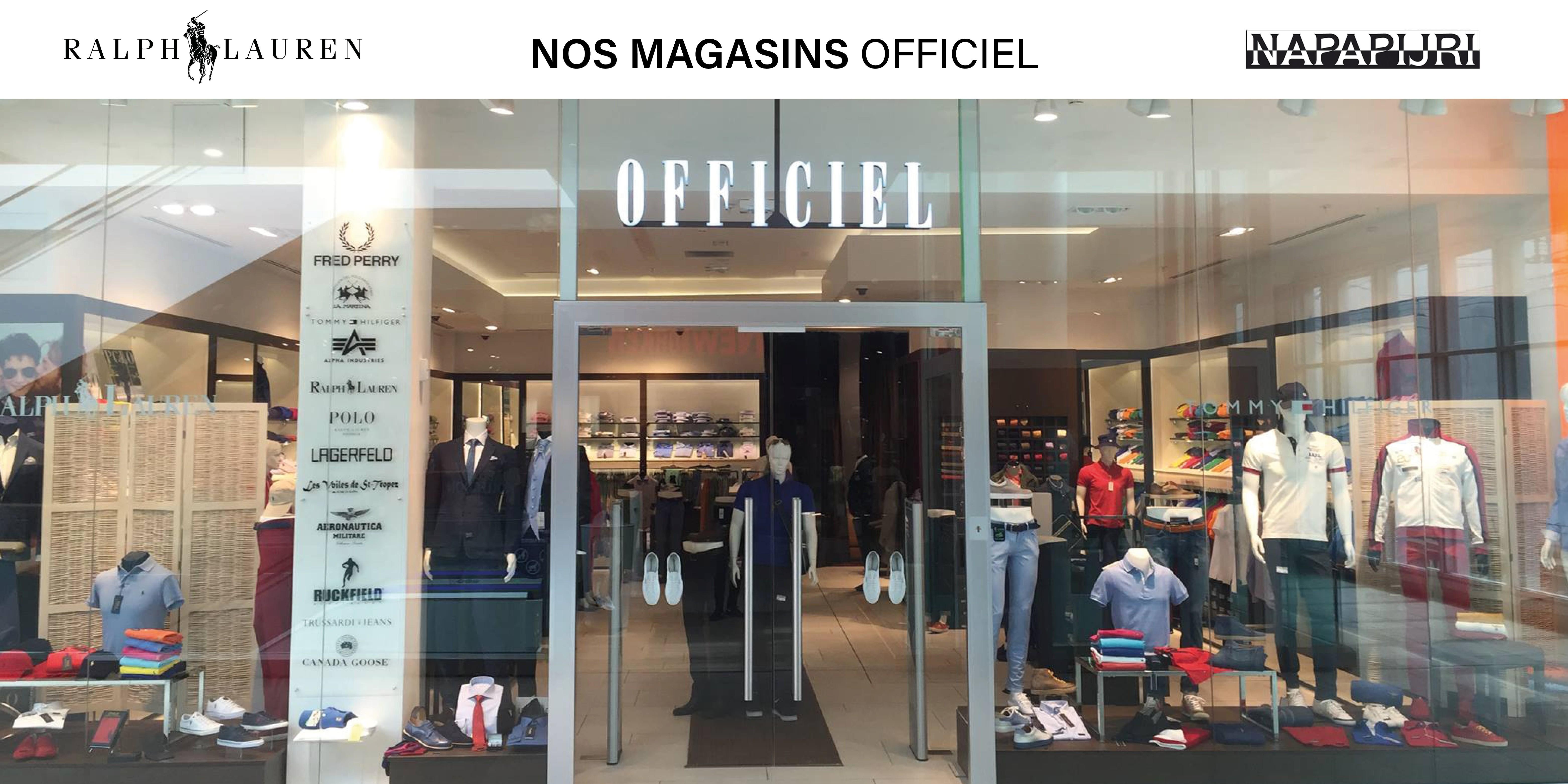 officiel boutiques